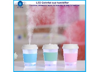 LED Colorful cup humidifier EW-J1