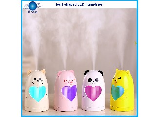 LED Heart shaped humidifier