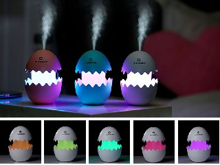 Cute egg humdifier with LED WY-JSQ-01