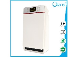 OEM Simple design indoor air purifier with hepa filter ,powerful pure air flow ionizer air purifier