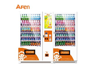 Hunan afen automatic chips chocolate beer bottle can vending machine  AF-60C(22SP)+10RS