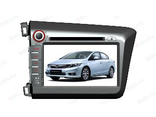 Car DVD Player with GPS HONDA  NEW CIVIC  (TS8766)
