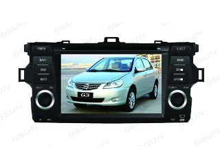 Car DVD Player with GPS BYD  G3  (TS7522)