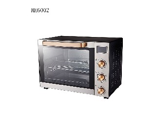China best adjustable temperature matel 60L oven  HH6002