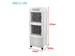 Two Stage Evaporative Cooler  RBW LL-V9A