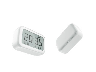 Multifunctional Nordic Style Clock | Temperature Display Clock