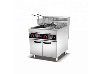Professional Good Price Electric/Gas Commercial Chicken Deep Fryer Machine   ZA-101V