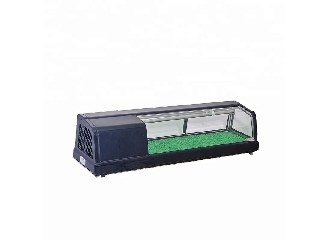 table top refrigerated sushi showcase, sushi display cabinet, sushi display refrigerator   GL-150L