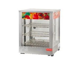 Glass Warming Display Showcase, Hot Food Warmer Display Showcase food warmer  ZA-OT-2pa