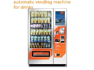 high quality snack drinks vending machine with big capacity