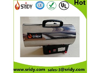 Industrial stainless body gas propane heater LPG 10KW