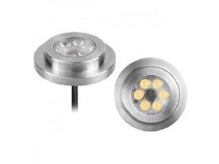 LED Pool Light, Surface Wall light, DC12V 6x1W IP68, Stainless Steel Body