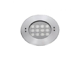 LED Pool Light, Recessed Wall light, DC24V 12x2W IP68, Stainless Steel Body