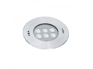 LED Pool Light, Recessed Wall light, DC24V 6x2W IP68, Stainless Steel Body