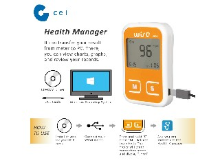PC Link Multi-function Blood Glucose Meter