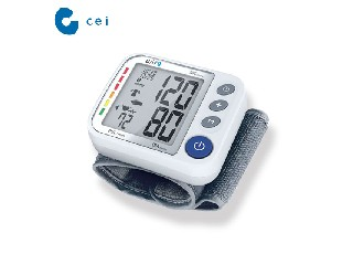 Medical Wrist Blood Pressure Digital Monitor With Bluetooth